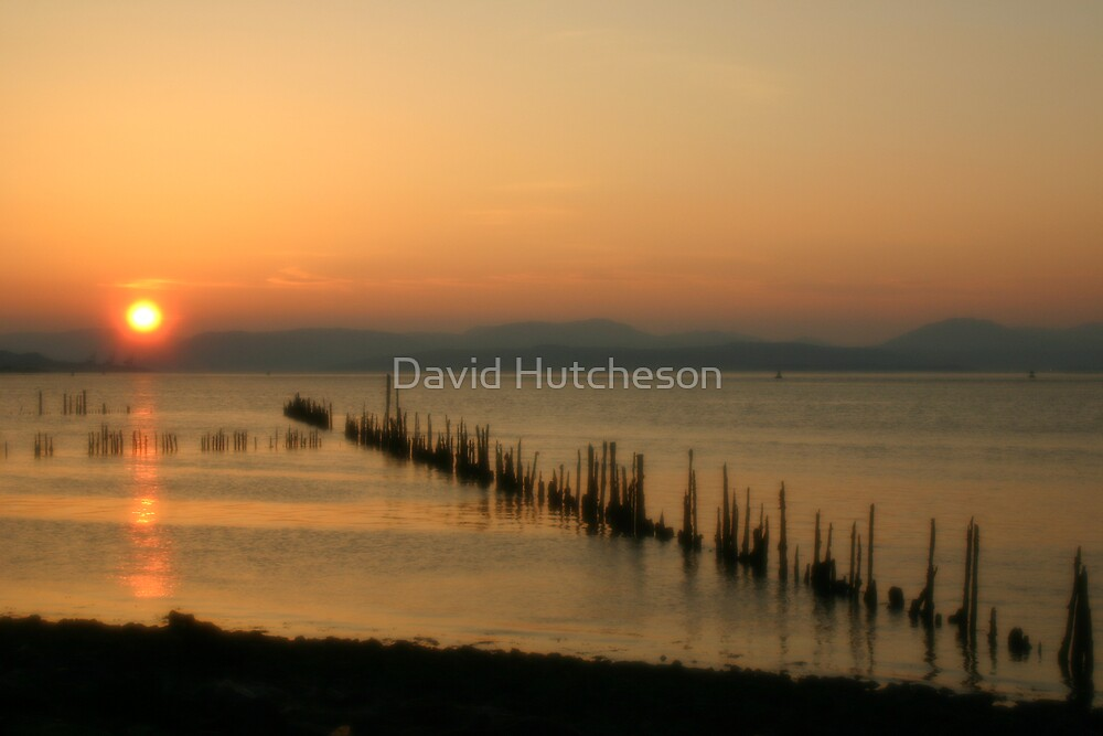Sunset Stabs 2 by David Hutcheson