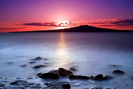 Pink Sunrise by Chris Gin