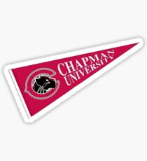 Chapman Universität Wimpel Sticker