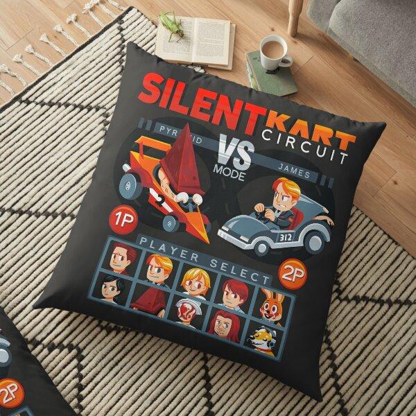 SILENT KART CIRCUIT Floor Pillow