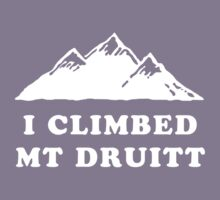 I Climbed Mt Druitt