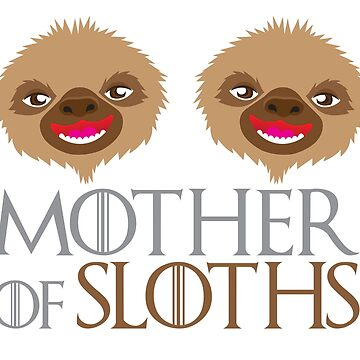 Mother of Sloths by jazzydevil