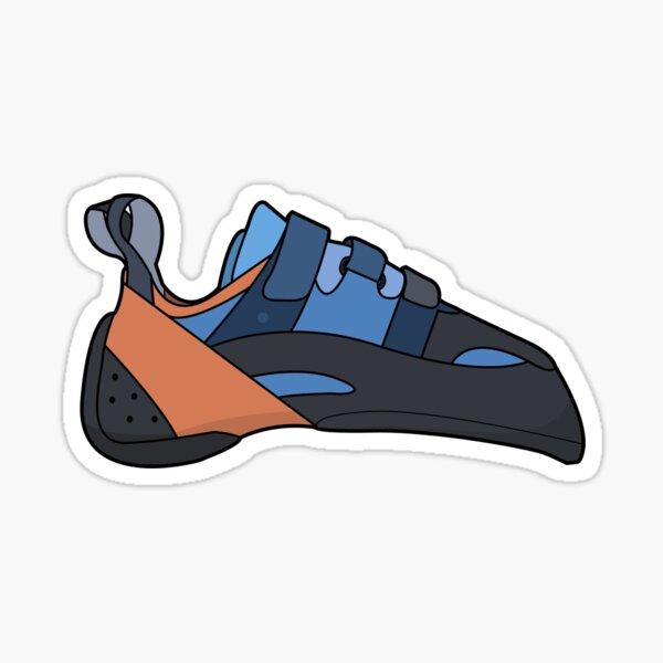 Climbing Shoe Illustration Sticker