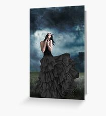 The Wind Blows. . . Greeting Card