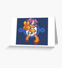 Space Channel 5 - Ulala Greeting Card
