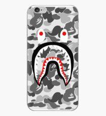 White sark pattern iPhone Case