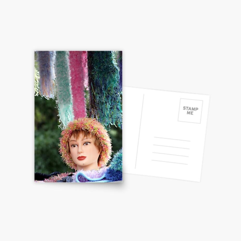 Manequin Postcard