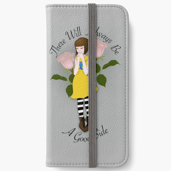 Fran Bow - Flowers 1 + Quote iPhone Wallet