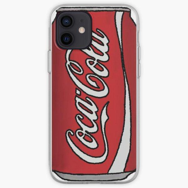 Coca-Cola puede Funda blanda para iPhone