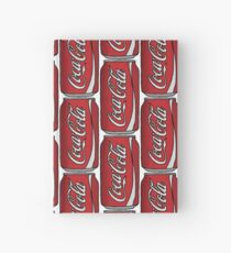 Coca Cola Can Hardcover Journal