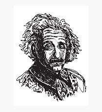 Icon: Einstein Photographic Print