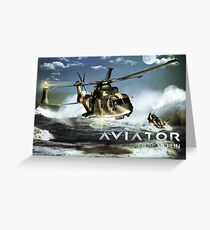 EH-101 Merlin Helicopter Greeting Card