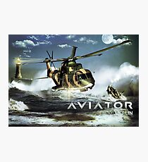 EH-101 Merlin Helicopter Photographic Print