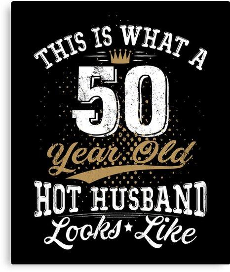 Lustiger Ehemann Der 50 Geburtstag 50 Jahre Alt Bedeutet