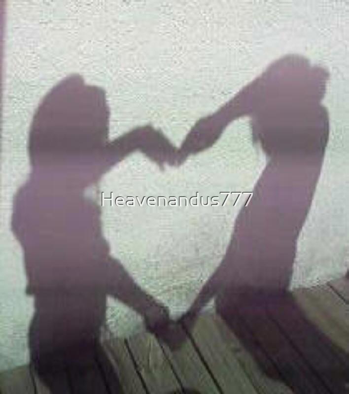 Silhoette Of Love by Heavenandus777
