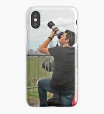 Now This Camera Means Business! iPhone Case