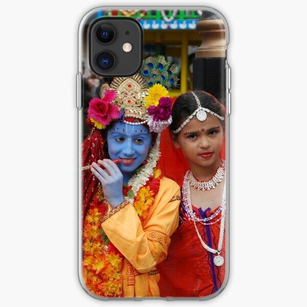 Radha Krishan at Rath Yathra iPhone Soft Case