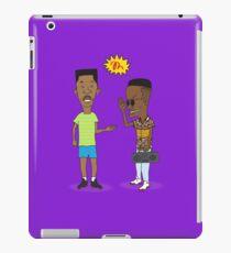 the handshake iPad Case/Skin