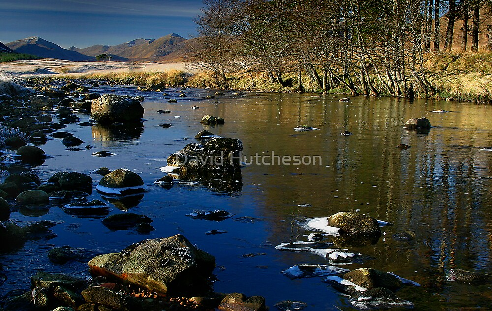 Up river  - Forrest Lodge by David Hutcheson