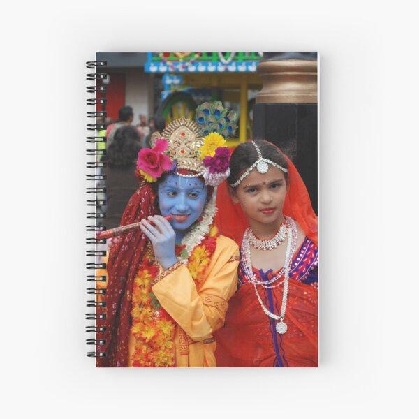 Radha Krishan at Rath Yathra Spiral Notebook