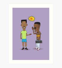 the handshake Art Print