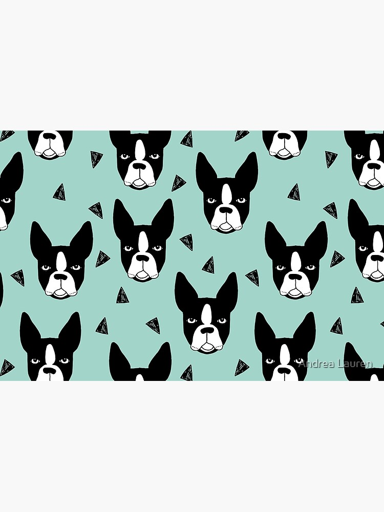 Boston Terrier - Mint by papersparrow