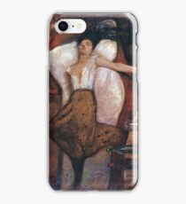 The Day After 1894 - 1895 Edvard Munch iPhone Case/Skin