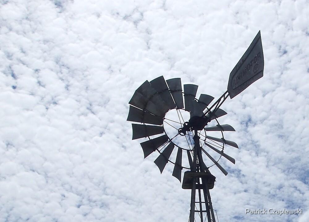 Amish windmill by Patrick Czaplewski