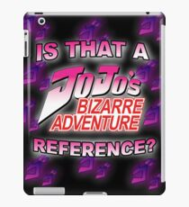 Jojo Reference iPad Case/Skin