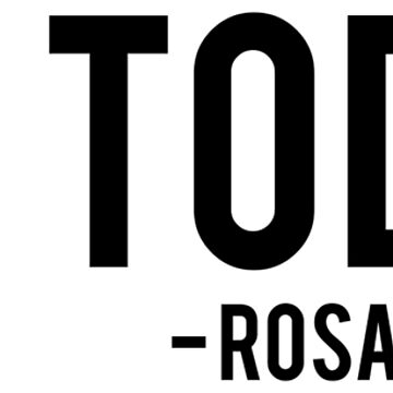 Not Today - Rosa Parks | African American | Black Lives by UrbanApparel