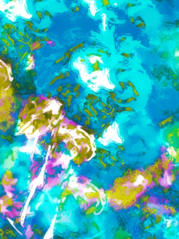 Hibiscus Impressionist Series - Blue by HawaiiArthst
