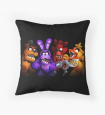 WELCOME TO FREDDY'S Throw Pillow