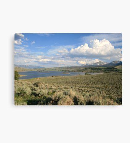Colorado Scene Canvas Print