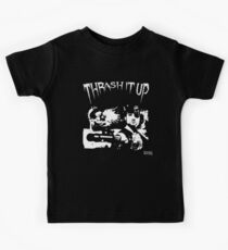 Thrash Snake B&W Kids Clothes