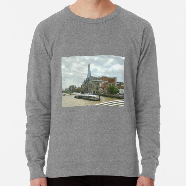 The Shard London looks part of the building  Lightweight Sweatshirt