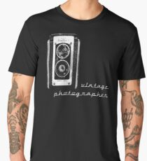 vintage photographer  Men's Premium T-Shirt