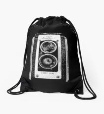 vintage photographer  Drawstring Bag