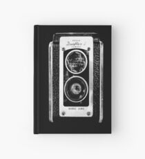 vintage photographer  Hardcover Journal