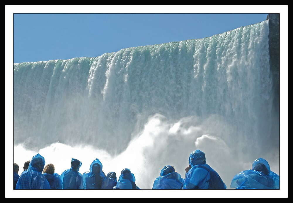 Just below the Niagara Falls by satwant