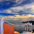 Once upon a time in Santorini by Hercules Milas