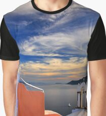 Once upon a time in Santorini Graphic T-Shirt