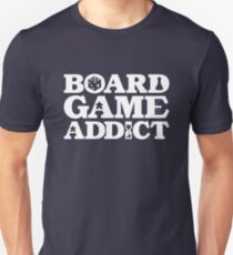 Board Game Addict for a Board Game Geek T-Shirt