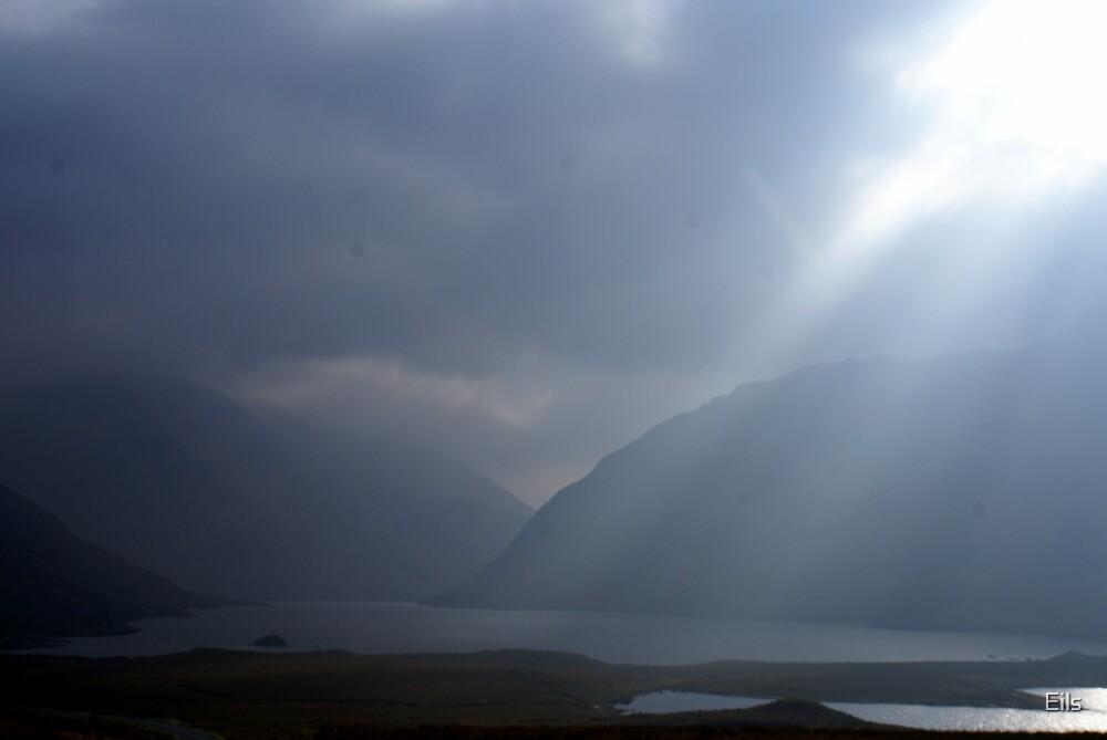 Breaking through the fog by Eils