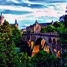 Bridge to Luxembourg by photorolandi