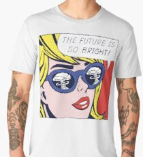 Pop Optimistic Girl Men's Premium T-Shirt