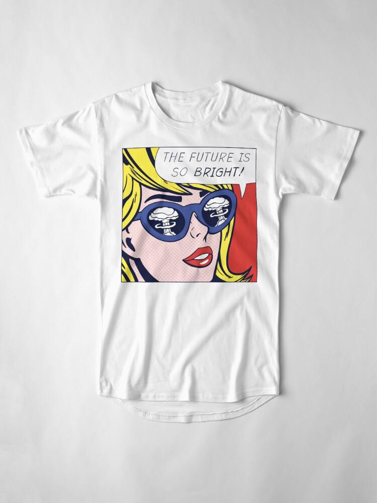 Alternative Ansicht von Pop optimistisches Mädchen Longshirt