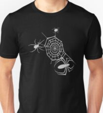 Halloween Black Widow Web Spider T-Shirt