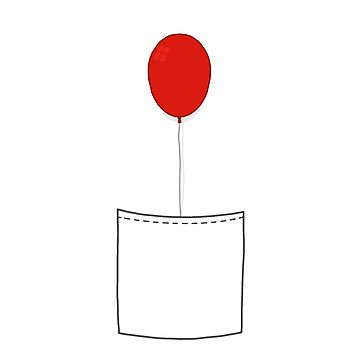 You'll Float Too - Red Balloon by ethantaylor