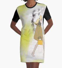 STREET STYLE FASHION Graphic T-Shirt Dress
