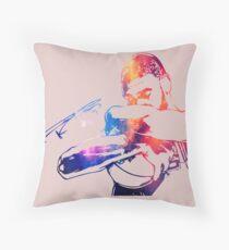 Tim Duncan Throw Pillow